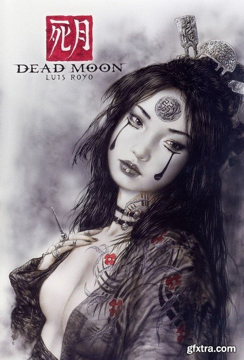 Works of artist Luis Royo - Dead Moon #1