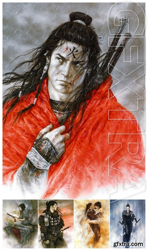 Works of artist Luis Royo - Dead Moon #3