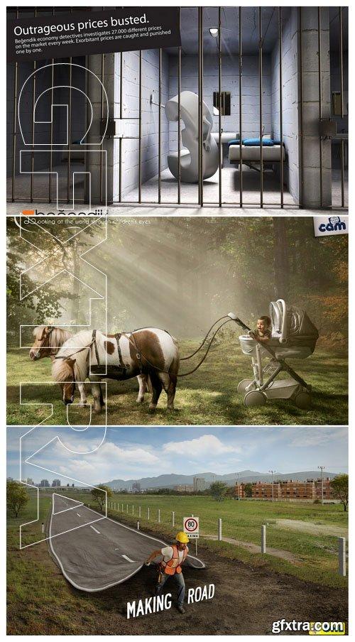 50 Advertising prints 47