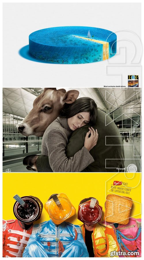 50 Advertising prints 48