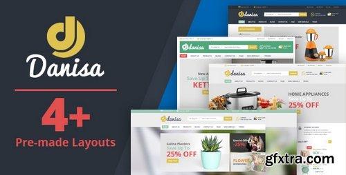 ThemeForest - Danisa v1.0 - Appliances, Gifts, Flower, Kitchenware Magento Theme 21239419