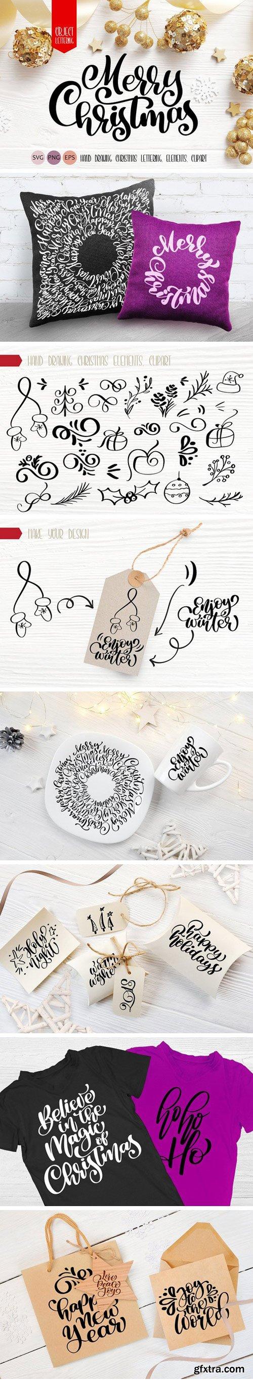 CM - Xmas Lettering & Doodle Elements 2121640