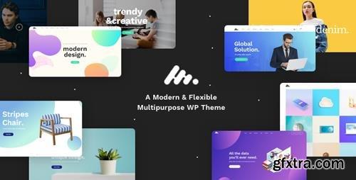 ThemeForest - Moody v1.1.3 - A Modern & Flexible Multipurpose WordPress Theme - 20524765