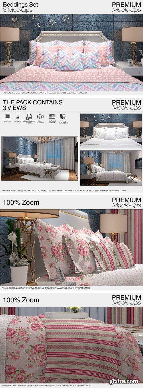 CM - Bedding Mockup Set 2110916