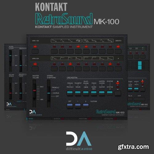 Difficult Audio RetroSound MK2 KONTAKT-SYNTHiC4TE