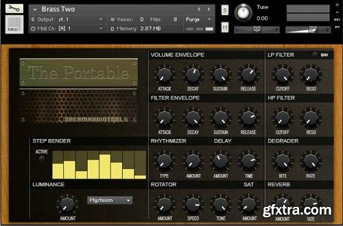 Dream Audio Tools The Portable v1.0 KONTAKT-0TH3Rside