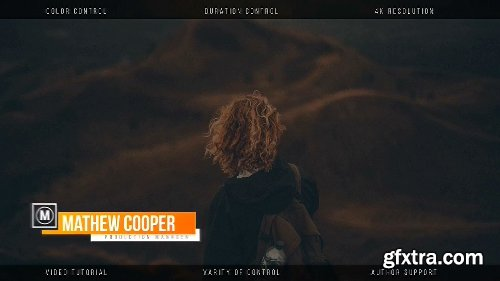 Videohive Minimal Lower Thirds 20493315
