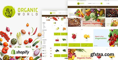 ThemeForest - Organic v1.0 - Shopify Theme for Organics Store - 20630130