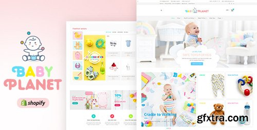 ThemeForest - Baby Planet v1.0 - Kids Toys & Responsive Shopify Theme - 20549210