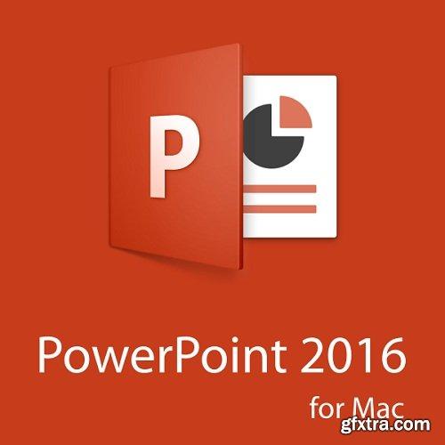 Microsoft Powerpoint 2016 VL 16.9.0 Multilingual (macOS)