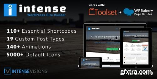 CodeCanyon - Intense v2.9.2 - Shortcodes and Site Builder for WordPress - 5600492