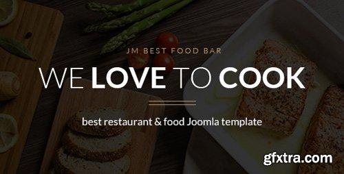 ThemeForest - JM Best Food Bar v1.03 - restaurant and food Joomla template - 15205296