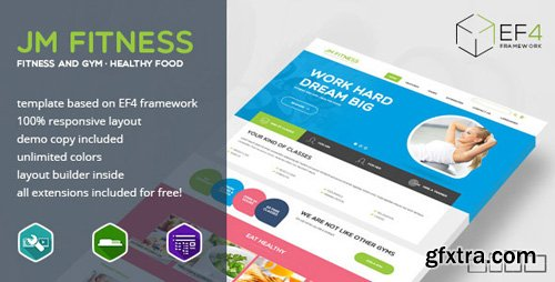 ThemeForest - Fitness v1.02 - gym, fitness and healthy lifestyle theme - 11458093