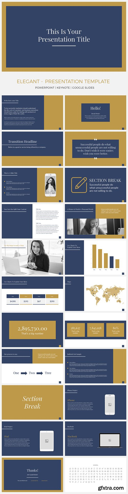 Elegant presentation template pack powerpointkeynotegoogle slides elegant presentation template pack powerpointkeynotegoogle slides toneelgroepblik Images