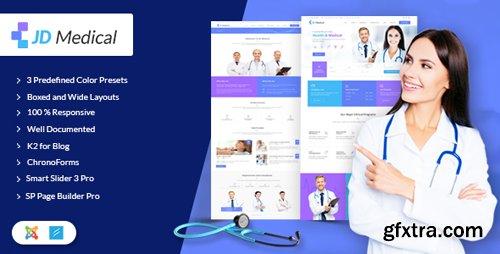 ThemeForest - JD Medical v1.2 - Responsive Health & Medical Joomla Template - 20264544
