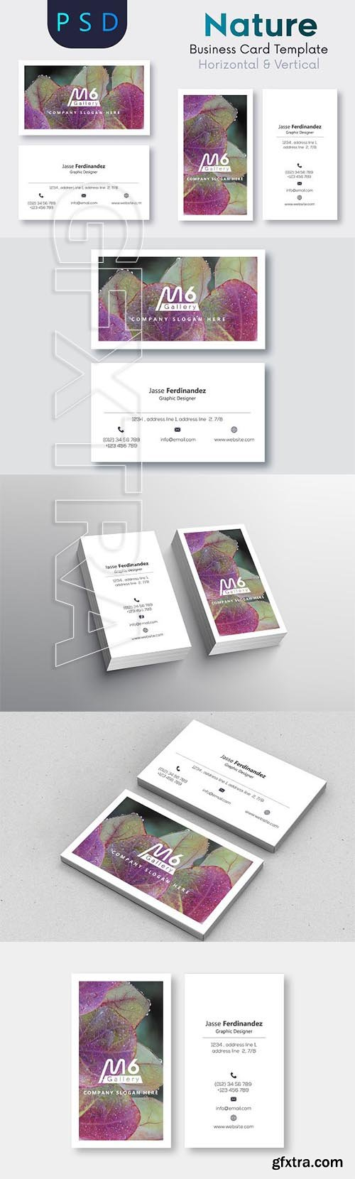 Creativemarket nature business card template s52 2218991 vector creativemarket nature business card template s52 2218991 reheart Images