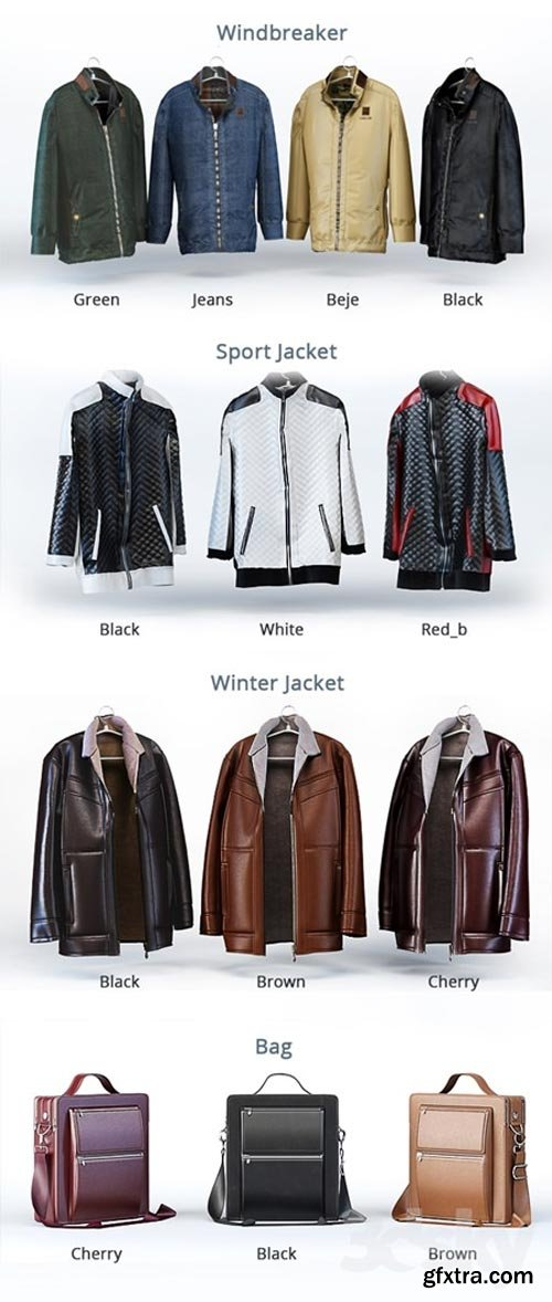 Windbreaker casual jacket men winter jacket Bag