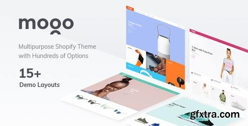 ThemeForest - MOGO v1.0 - Fashion, Electronics, Clothing and Apparel Shopify theme - 21153459