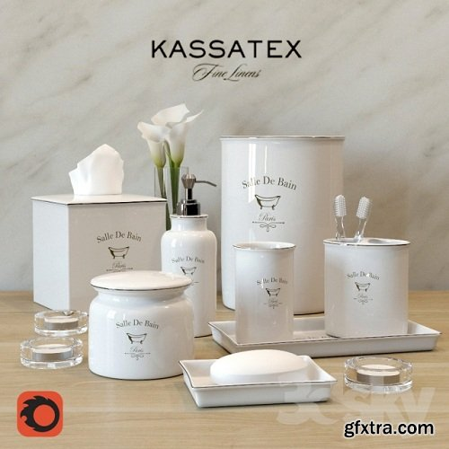 Set for bathroom Kassatex