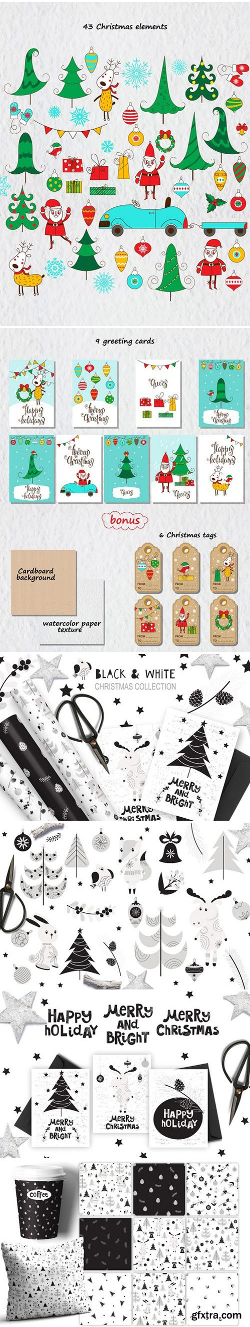 CM - 3 Christmas collection 2153667