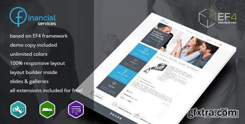 ThemeForest - Financial Services v1.03 - multipurpose Joomla template - 10084019