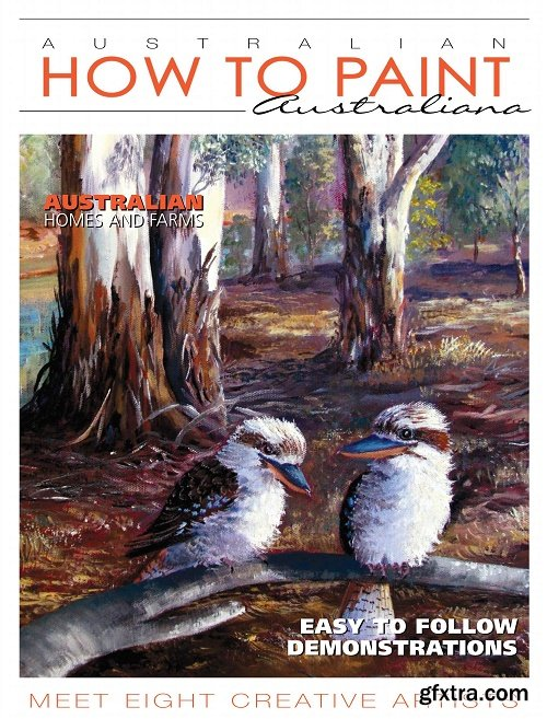 Australian How To Paint - January 2018