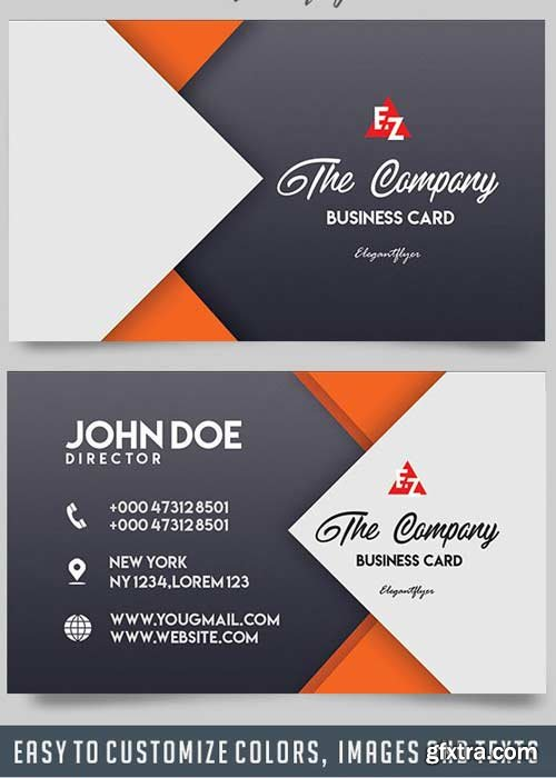 Adobe photoshop indesign after effects illustrator source files the company v5 2018 business card templates psd reheart Gallery