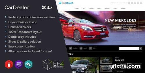 ThemeForest - Car Dealer v1.04 - multipurpose product directory - 9487137