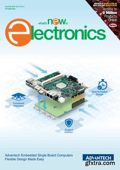 What's New in Electronics - January/February 2018