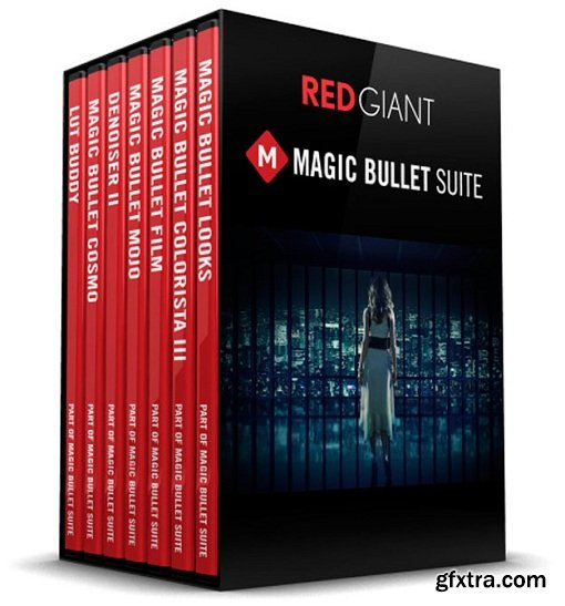 Red Giant Magic Bullet Suite 13.0.5 WIN