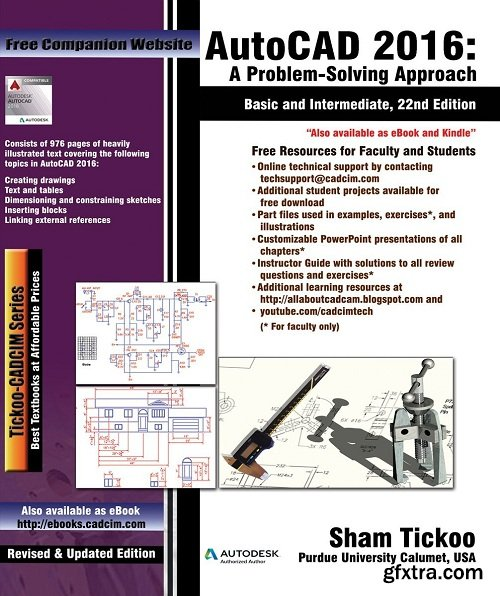 AutoCAD 2016: A Problem - Solving Approach, Basic and Intermediate