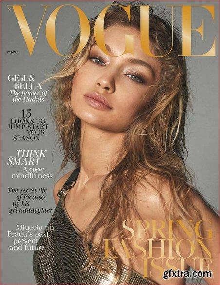 British Vogue - March 2018