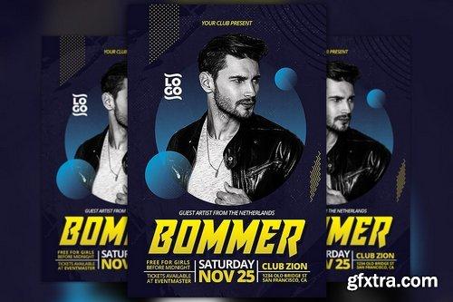 CM - Electro DJ Artist Flyer Template 2186089