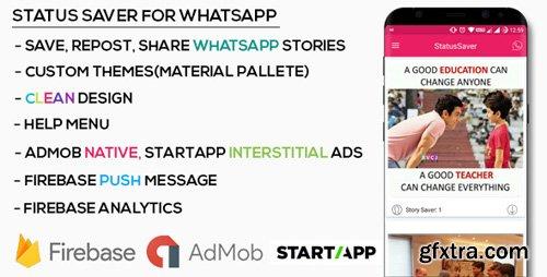 CodeCanyon - Status Saver For WhatsApp v1.0 - 20595211