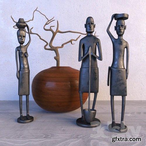 African Sculpture 3d Models