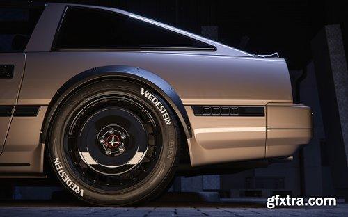 Nissan Fairlady 3D Model