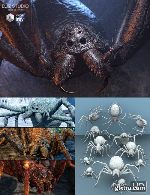 Giant Monster Spider HD Bundle