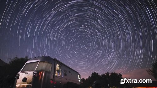 Night Sky Photography - Milky Way and Star Trails