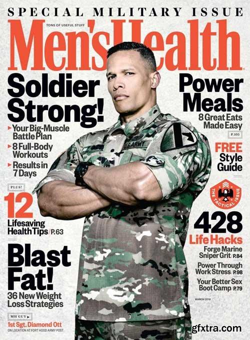 Men\'s Health USA - March 2018