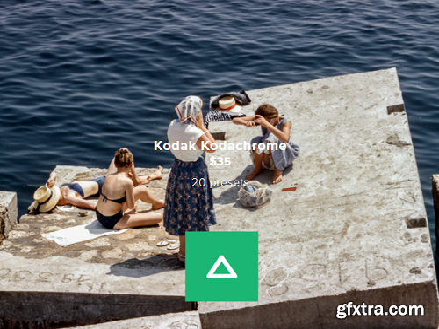 Beaches] Kodachrome lut photoshop