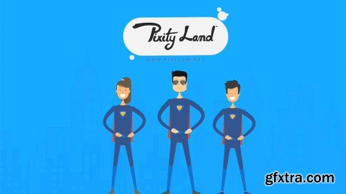 Videohive Pixity Land | Character Animation Explainer Toolkit v3.6.3 7139829