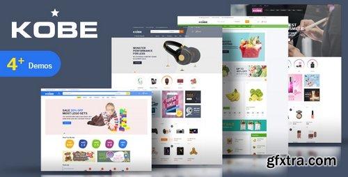 ThemeForest - Kobe v1.0 - Multi Store Responsive Magento Theme 21379888