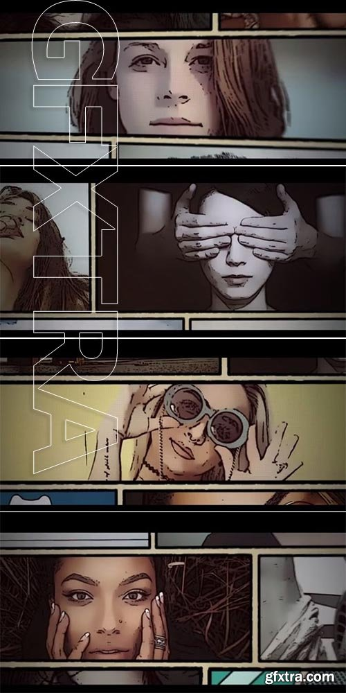 Pond5 Comic Book Intro - After Effects 85487082