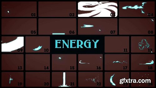 Videohive Elemental 2D FX pack [200 elements] 9673890