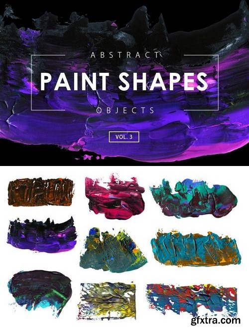 Abstract Paint Shapes 3
