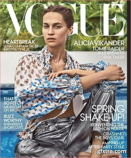 Vogue USA - March 2018