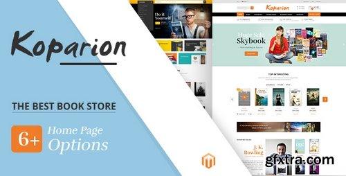 ThemeForest - Koparion v1.0 - Book Shop Responsive Magento Theme 21412412