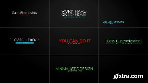 Videohive Modern Titles and Lower Thirds 16226249