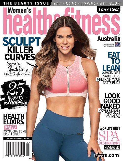 Women\'s Health & Fitness Australia - March 2018