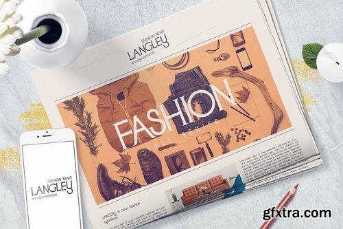 CM - Langley - New Fashion Typeface 2254996